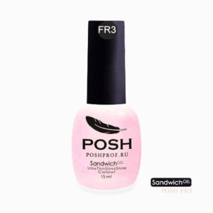 FR3 POSH SANDWICH GEL UV/LED — Розовые мечты