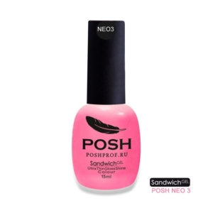 NEO3 POSH SANDWICH GEL UV/LED — Bubble Gum