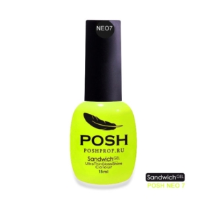 NEO7 POSH SANDWICH GEL UV/LED — Лимон-Неон